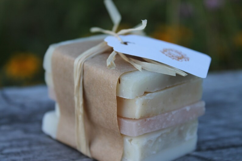 Vermont Made Artisan Soap Sampler All Natural Handcrafted image 0