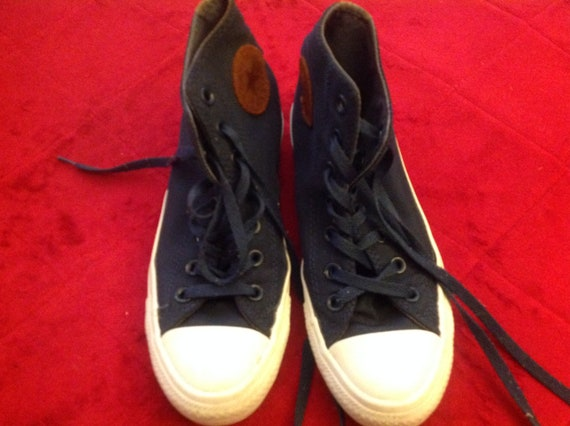 67fb2427def2 Vintage Unisex Converse All Star High Top Shoes With Suede