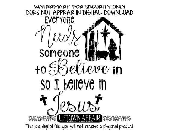 an jemanden glauben