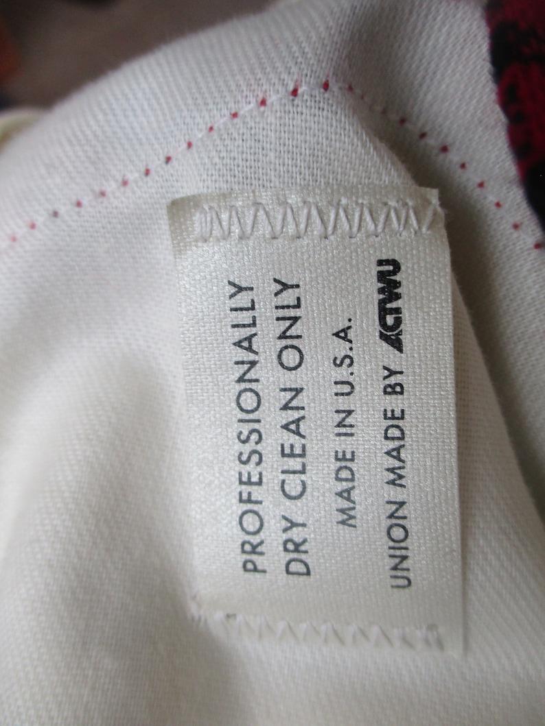 1980/'s High Waist 1970s High Waisted Plaid with pleats Skorts Size 29 waist Union Made Vintage Culottes High Rise Shorts Gauchos