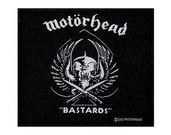 MOTORHEAD  IRON ON OR SEW ON  PATCH  BUY 2 OF THESE WE SEND THREE