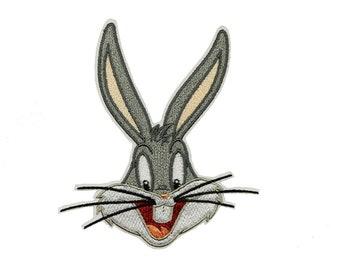 Looney tunes bugs heat transfer iron on bunny daffy elmer  4.5 inch