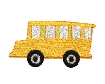 Plastic Canvas Christmas Ornaments Patches Locomotive School Bus Car Guitar Iron-On Chevrons ~ 20-01-976