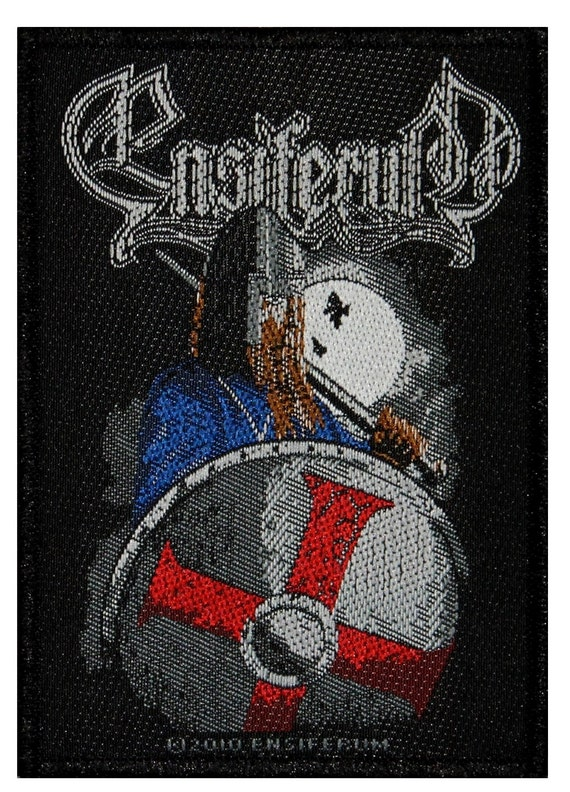 Ensiferum Viking Knight Shield Patch Warrior Folk