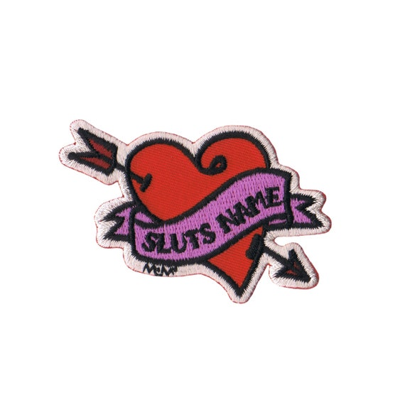 Tattoo Name Patch