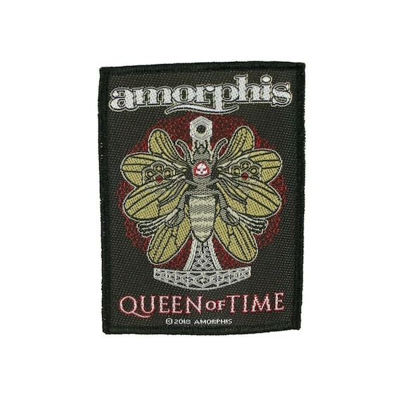 Amorphis Queen Of Time Patch Finnish Band Heavy F… - image 1