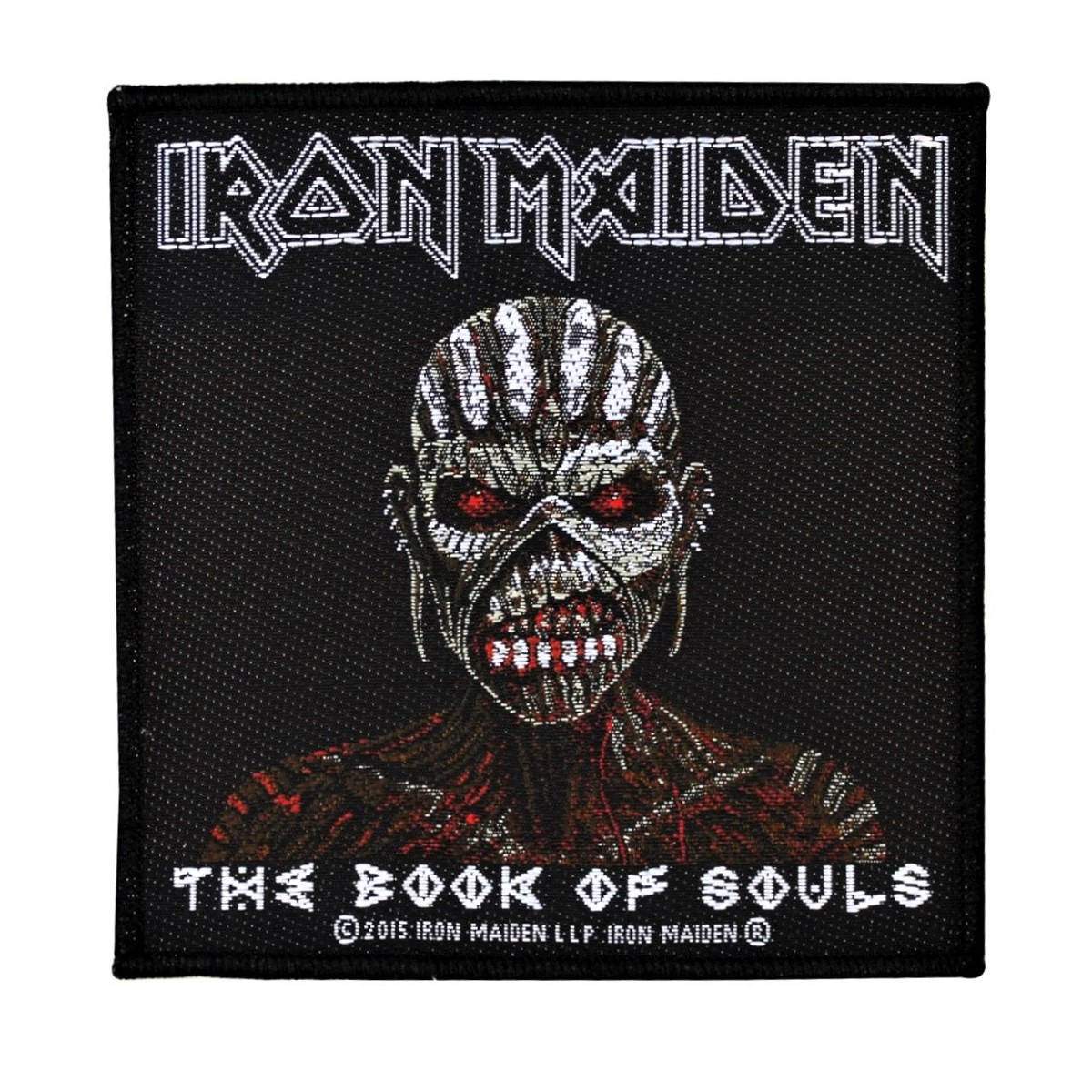 The book of souls iron maiden album artwork