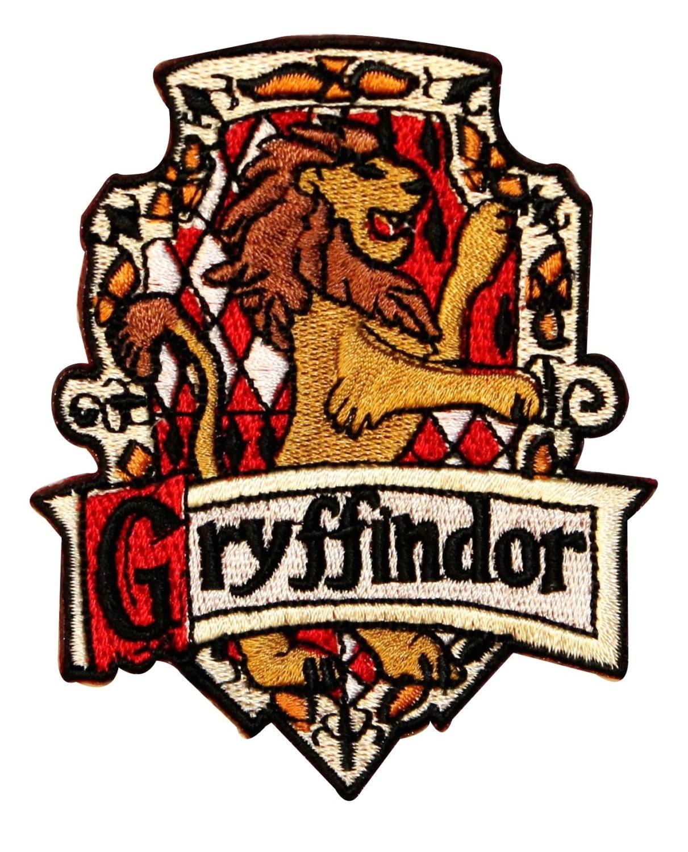 Gryffindor Hogwarts House Crest Harry Potter Embroidered Etsy