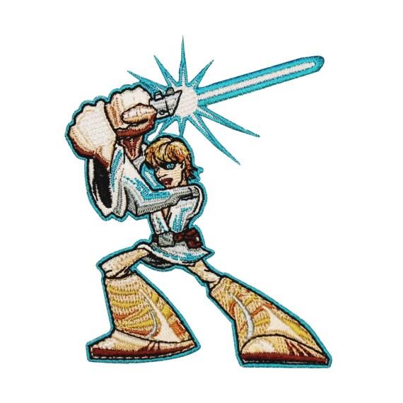 Cartoon Young Luke Skywalker Lightsaber Jedi Star Wars   Etsy