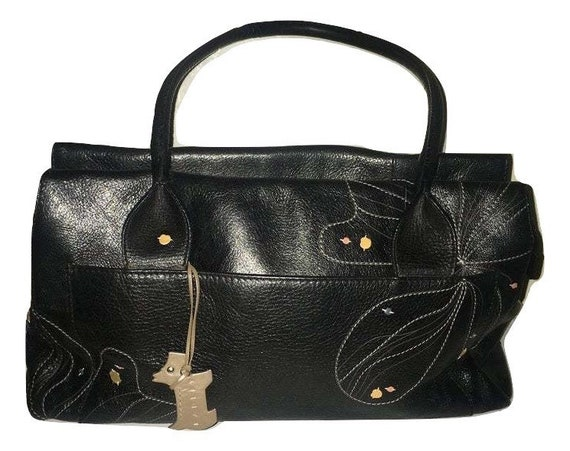 RADLEY Bag.  Radley Handbag Purse Black Leather Sh