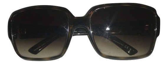 Vintage Pierre Cardin sunglasses - 1990s Brown To… - image 3