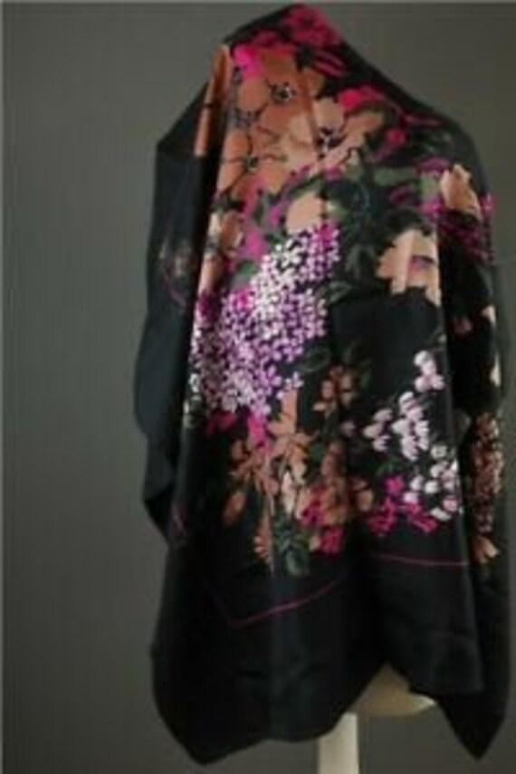 Christian Dior Scarf.   Dior Floral Scarf clothing