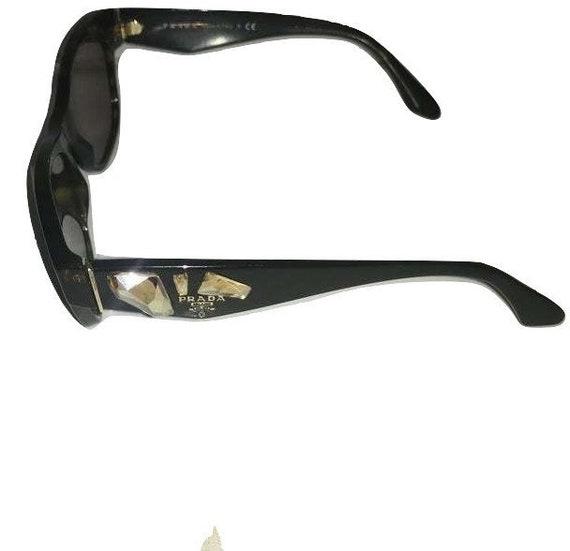 Vintage Prada sunglasses - 1990s Brown Tortoise Sh