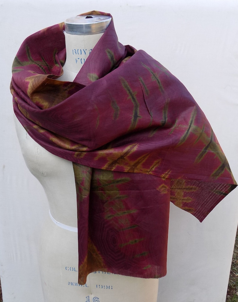 Burgundy Wrap Scarf Burgundy Long Scarf Soft Cotton Scarf. Burgundy Shawl