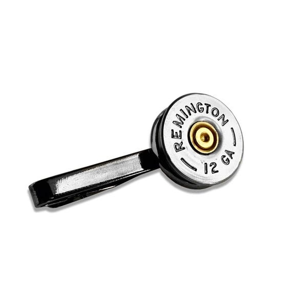 Shotgun Tie Clip Remington Tie Clip Best Fathers Day Gifts Etsy