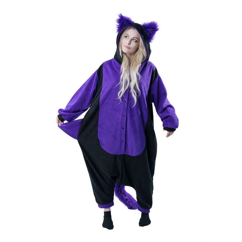 0ca23909301 Pawstar Kitty Cat Kigu Kigurumi Partial Fursuit Adult Onesie