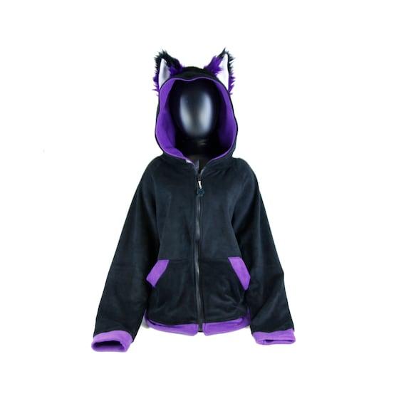 Pawstar Fuchs Ohren Hoodie Furry Cosplay Kostüm Anime Etsy