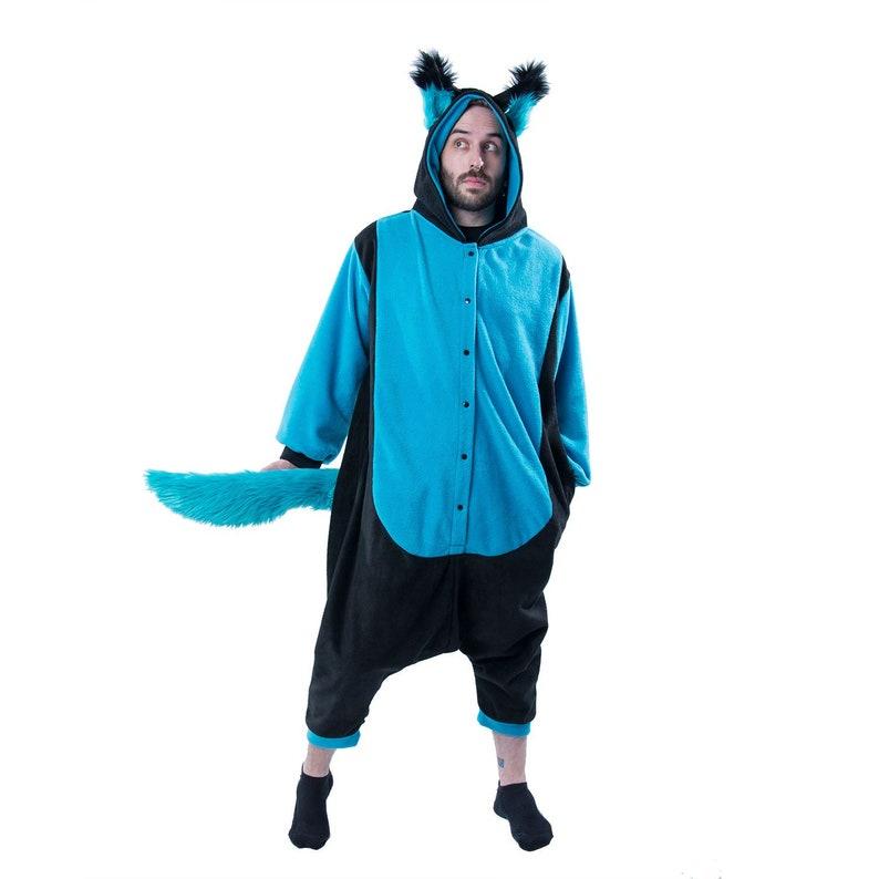 ea809072e6b Pawstar WOLFY HOWL Kigurumi Wolf ears   Tail Kigu Furry
