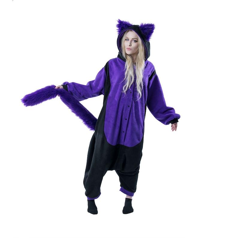 852d1ae95 Pawstar Kitty Cat Kigu Kigurumi Partial Fursuit Adult Onesie