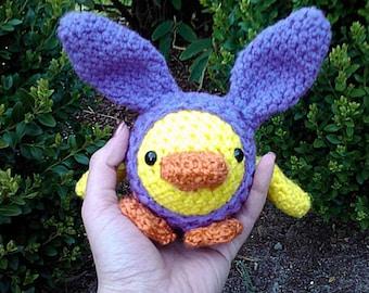 Chicky Hop Crochet Pattern