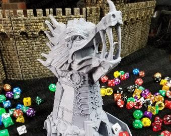 Fates' End Clockwork Monster Dice Tower