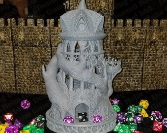 Fates' End Druid Dice Tower w/ textured tray