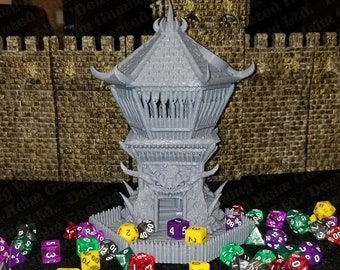 Fates' End Barbarian Dice Tower w/ textured tray