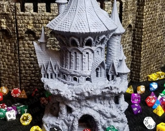 Fates' End Sorcerer Dice Tower w/ textured tray