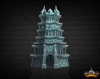 Fate's End Drow / Dark Elf Dice Tower