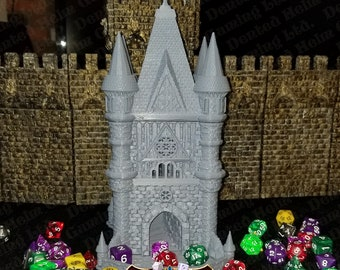 Fates' End Cleric Dice Tower w/ textured tray