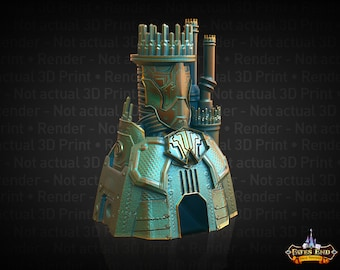 Fate's End Warforged Dice Tower