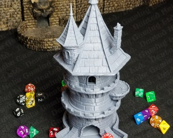 Fates' End Wizard Dice Tower w/ textured tray