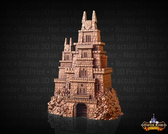 Fate's End Dragonborn Dice Tower