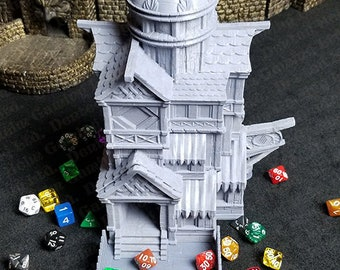 Fates' End Catfolk Dice Tower