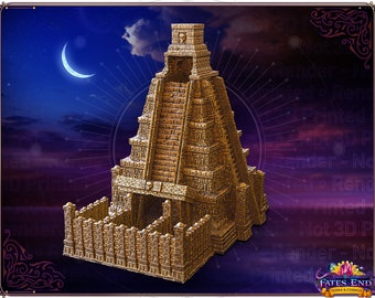 Fates' End Mayan Temple Dice Tower
