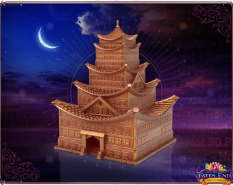 Fates' End Pagoda Dice Tower