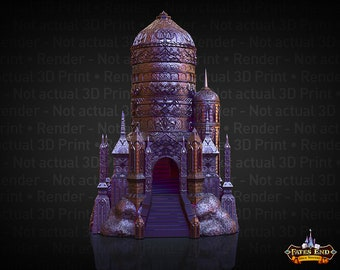 Fate's End Eladrin (Elf) Dice Tower