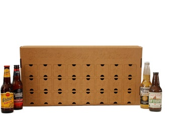 Fill-Your-Own Beer or Wine Advent Calendar box