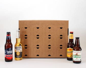 """Fill-Your-Own """"12 Beers of Christmas"""" box"""
