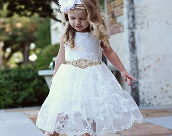 7e1051c368b Rustic flower girl dress