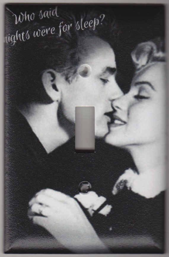 Vintage Marilyn Monroe James Dean Who Said Nights Were For Etsy