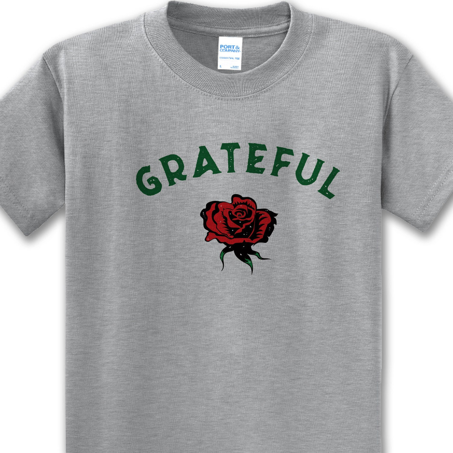 d387a3b1 Grateful Rose T-shirt Men's and Ladies All Sizes & | Etsy