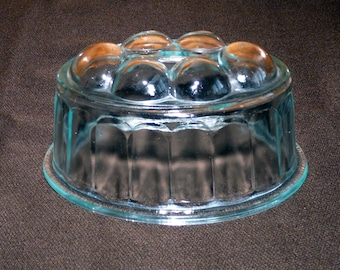 Glass mould for butter or for baking