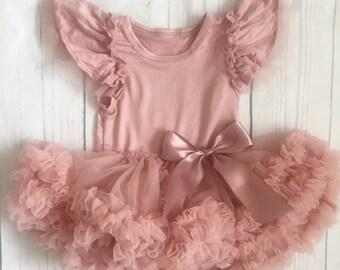 c6c3be52b Baby girls tutu dress-1st birthday girl outfit-cake smash outfit-vintage  pink tutu-baby girl dress-baby girl tutu outfit-baby girl clothes