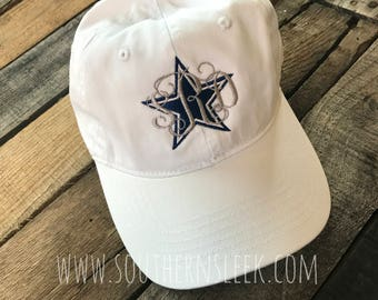 Dallas Cowboys Monogrammed Hat
