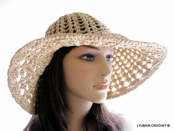 Crochet Hat PATTERN Women s Hats DIY Crafts Floppy Hat  f410c151093