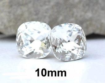 aa45a5324614b 10mm crystal studs | Etsy