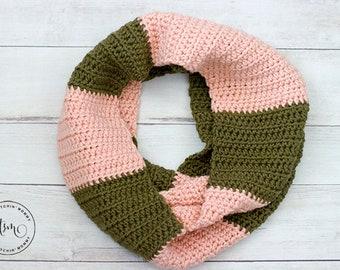 PDF Crochet Pattern - Willa Infinity Scarf