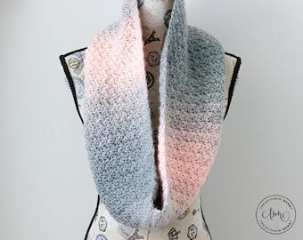 PDF Crochet Pattern - Elise Infinity Scarf