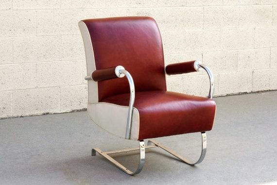 Rare Kem Webber Art Deco Armchair Refinished | Etsy
